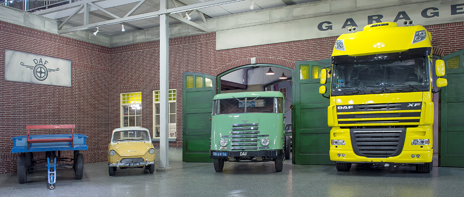 DAF Museum historie